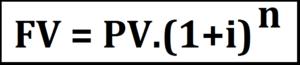 Fórmula valor futuro