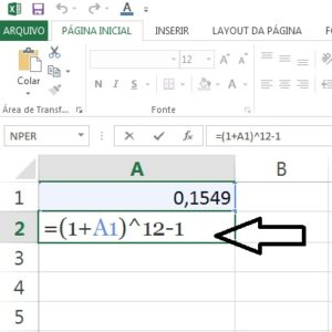 juros do cartão no Excel parte 2