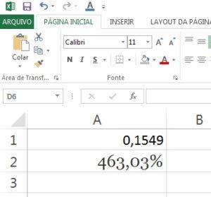 juros do cartão no Excel parte 4