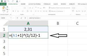 juros do cartão no Excel parte 7