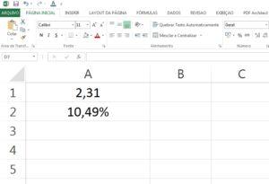 juros do cartão no Excel parte 9