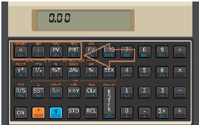 Como calcular a parcela de um financiamento na Hp 12c