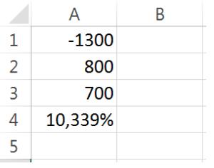 taxa de juros no excel parte 3