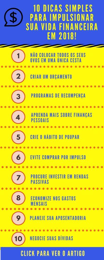dicas de finanças pessoais