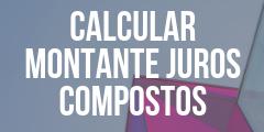 Calcular o montante acumulado de uma aplicação – juros compostos
